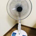 うちわ風が魅力の日立DCモーター扇風機を購入!就寝時にもオススメ