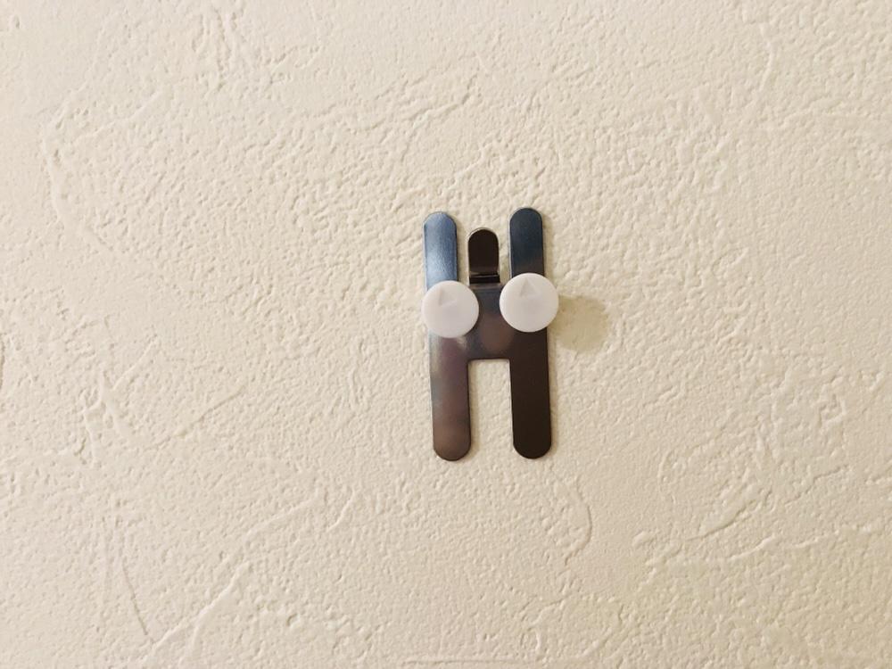 壁に付けられる家具の部品