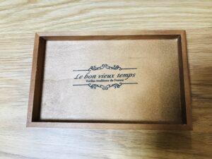 セリア木製インテリアトレー