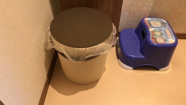 おむつ用ゴミ箱はオムニウッティLLサイズに!決めた理由とは?
