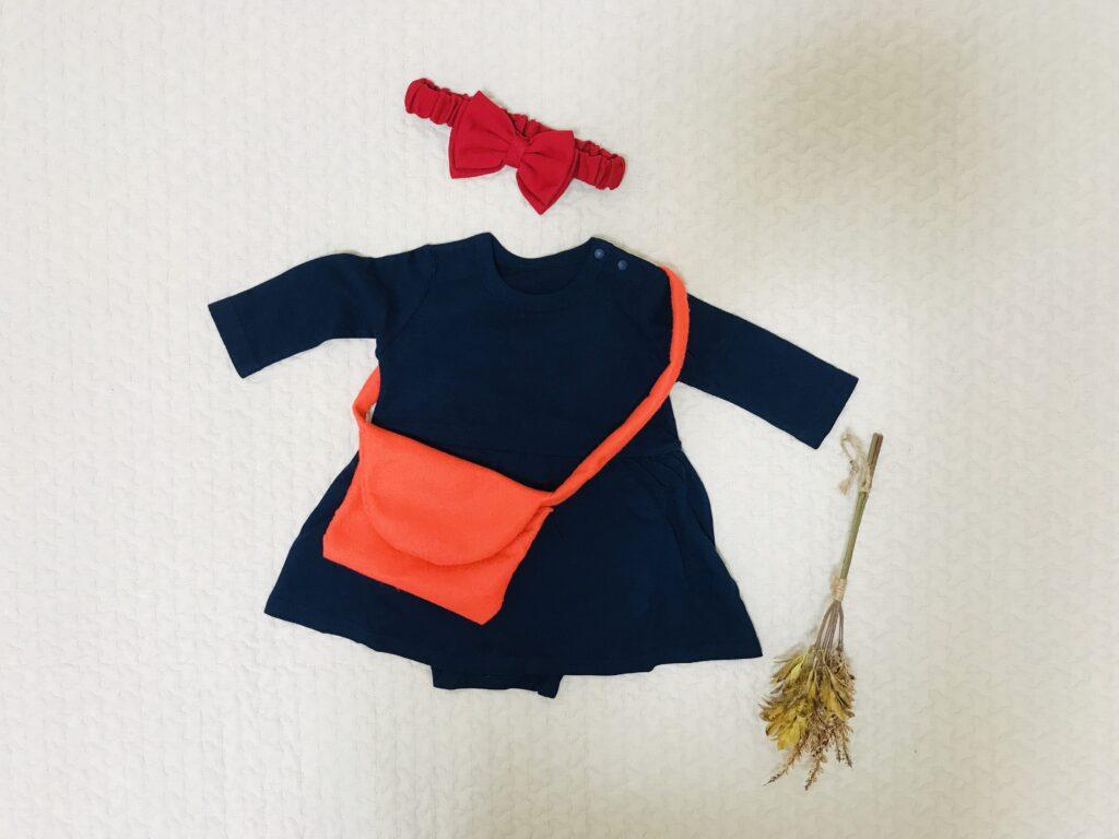 赤ちゃんハロウィン仮装キキ